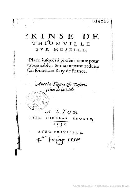 La Prinse de Thionville