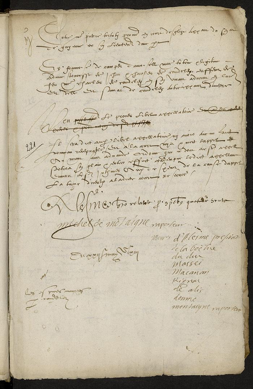 [Arrêt du Parlement de Bordeaux, 22 mai 1563]