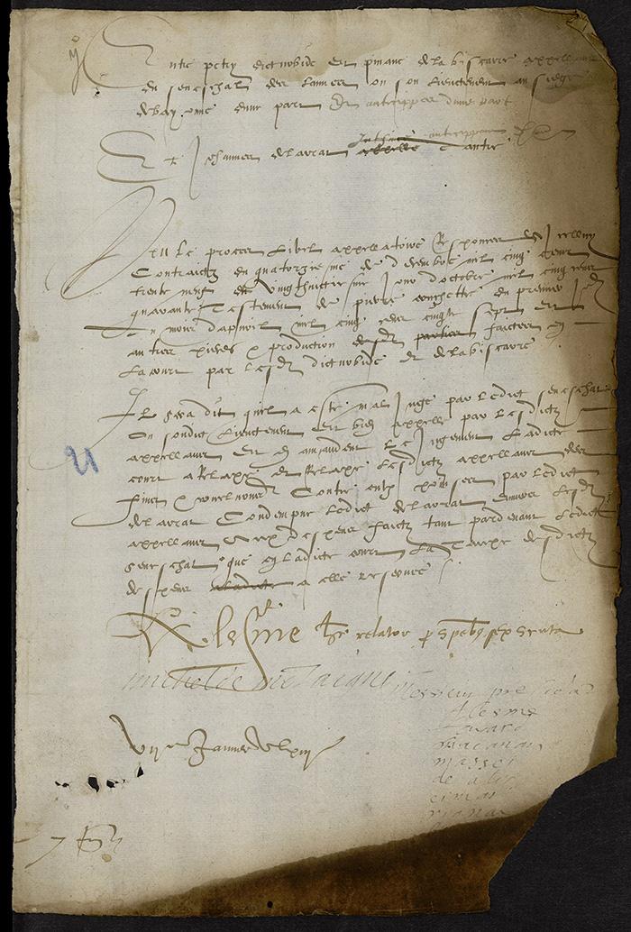 [Arrêt du Parlement de Bordeaux, 7 janvier 1563 (1564 n. st.)]
