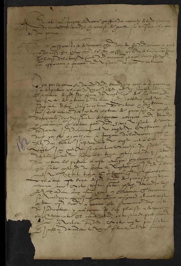 [Arrêt du Parlement de Bordeaux, 17 mars 1563 (1564 n. st.)]