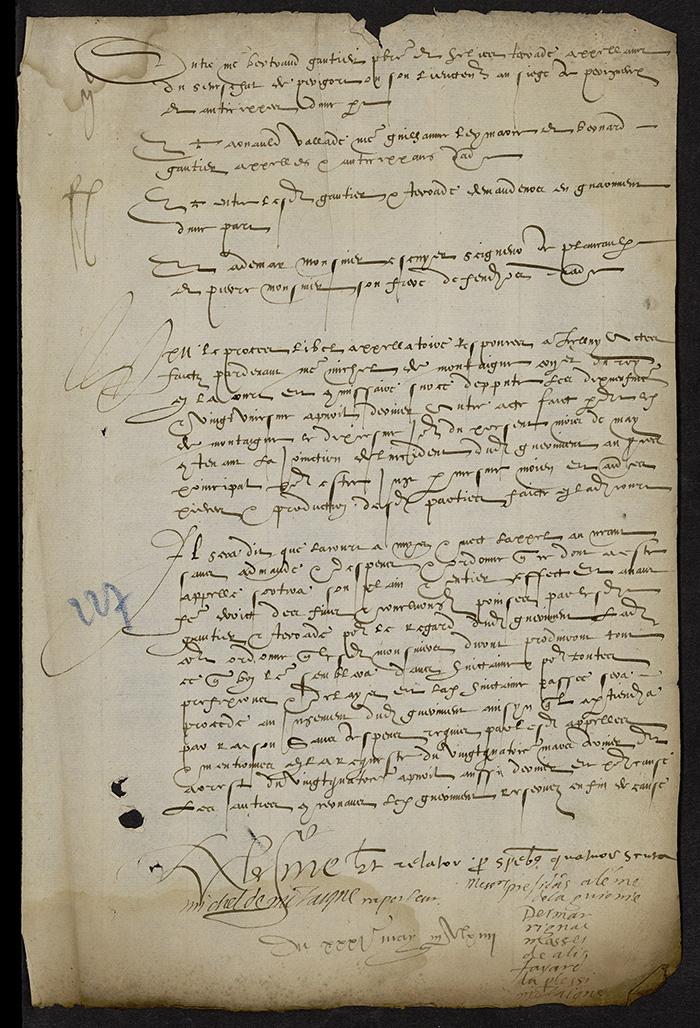 [Arrêt du Parlement de Bordeaux, 31 mai 1564]