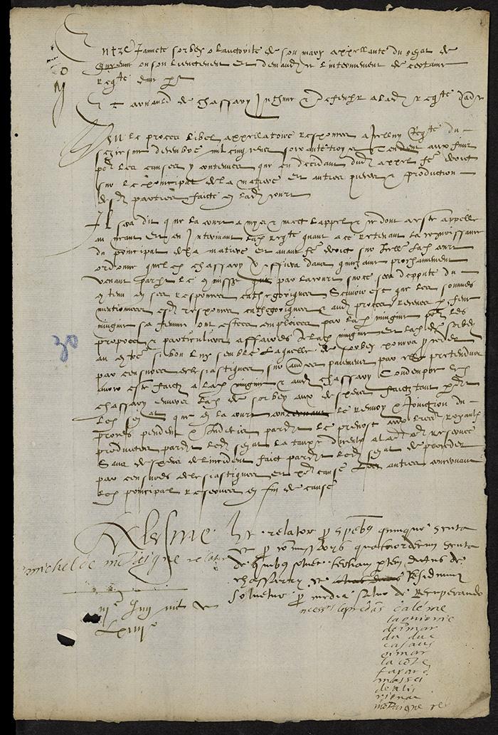 [Arrêt du Parlement de Bordeaux, 3 juin 1564]