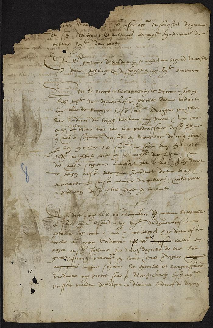 [Arrêt du Parlement de Bordeaux, 2 mars 1564 (1565 n. st.)]