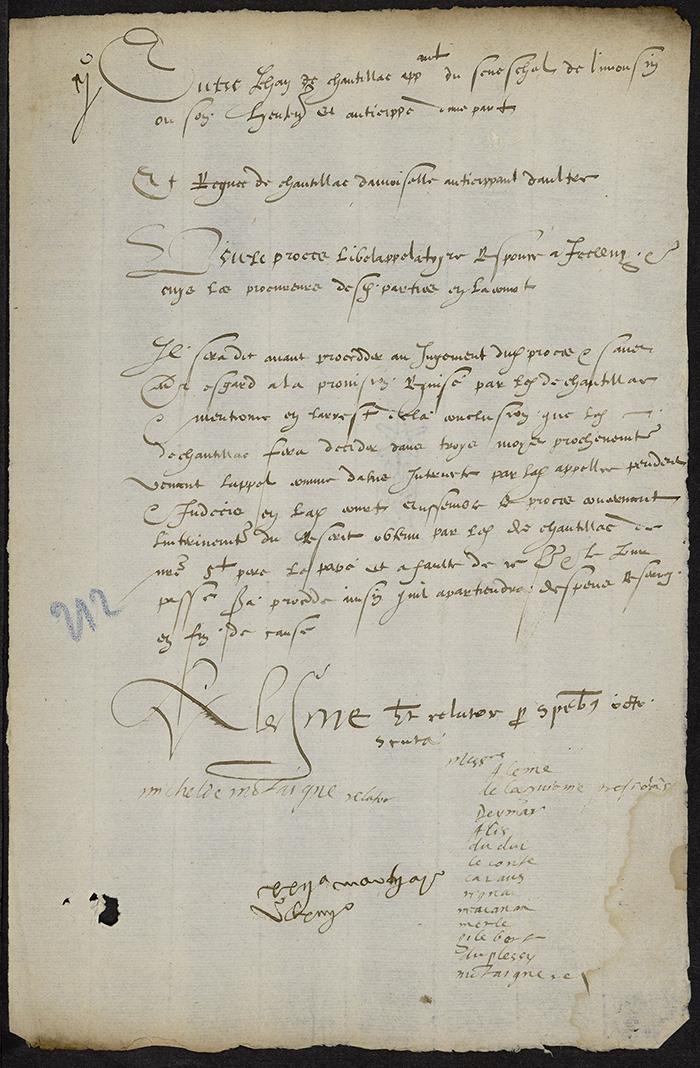 [Arrêt du Parlement de Bordeaux, 22 mars 1564 (1565 n. st.)]