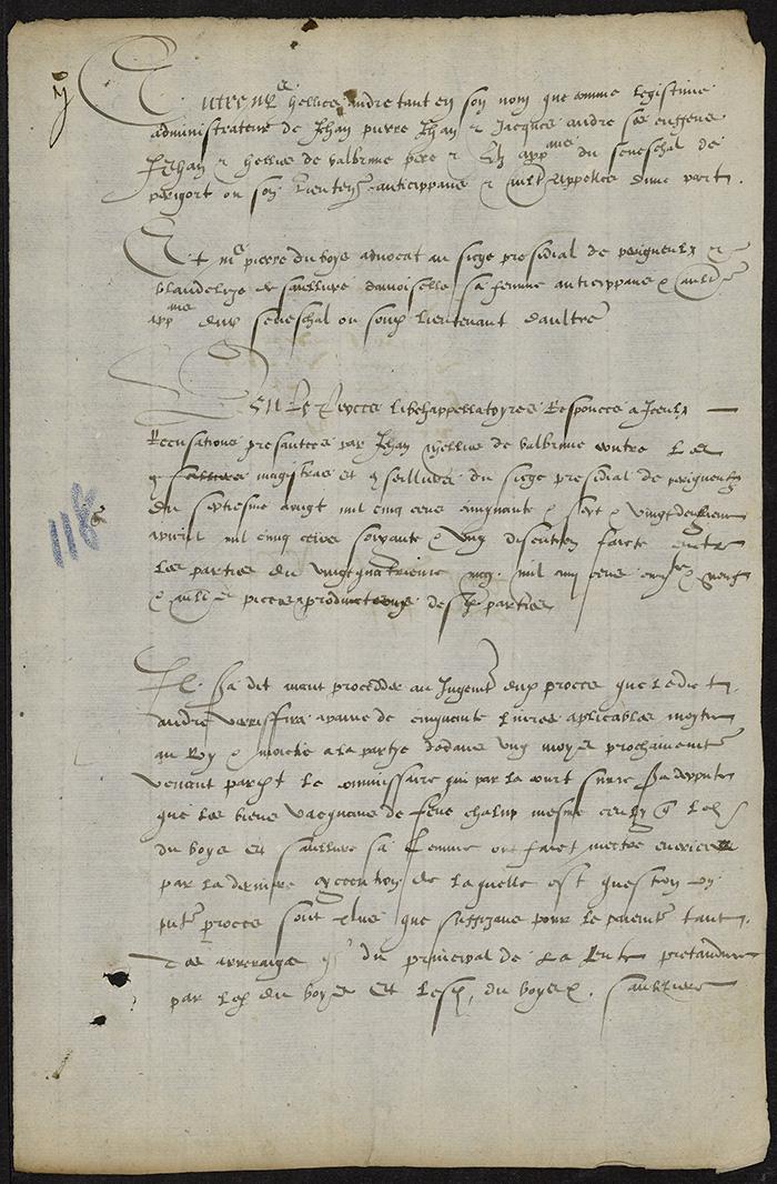 [Arrêt du Parlement de Bordeaux, 14 avril 1564 (1565 n. st.)]
