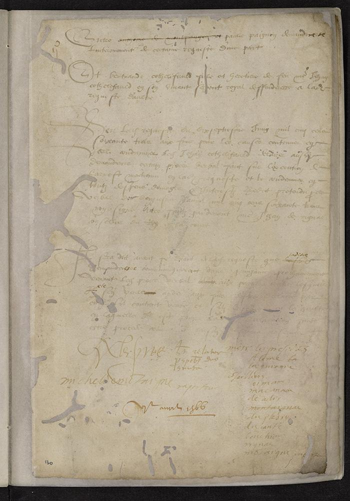 [Arrêt du Parlement de Bordeaux, 6 avril 1565 (1566 n. st.)]
