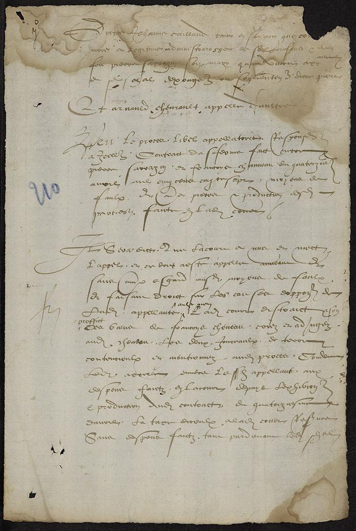 [Arrêt du Parlement de Bordeaux, 21 mai 1566]