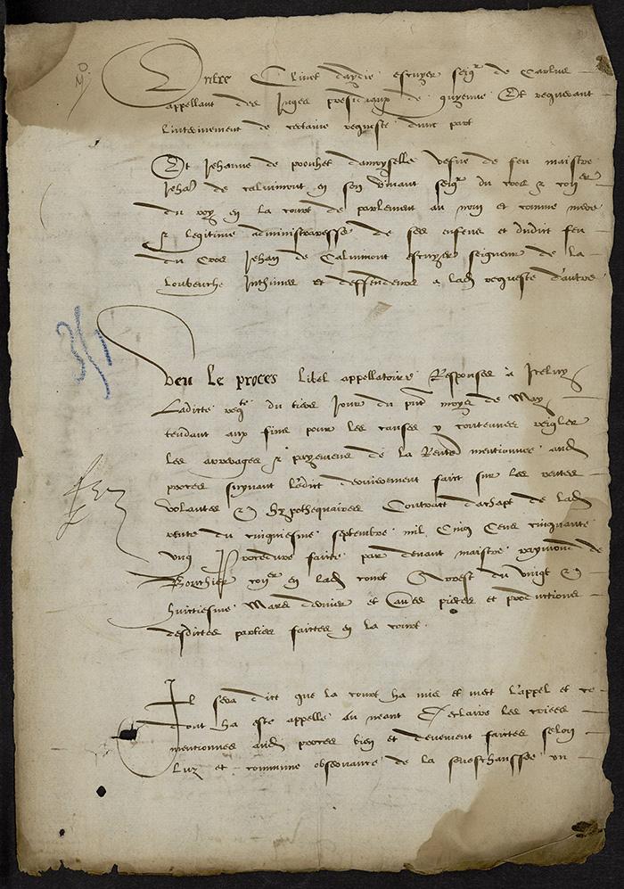 [Arrêt du Parlement de Bordeaux, 28 mai 1566]