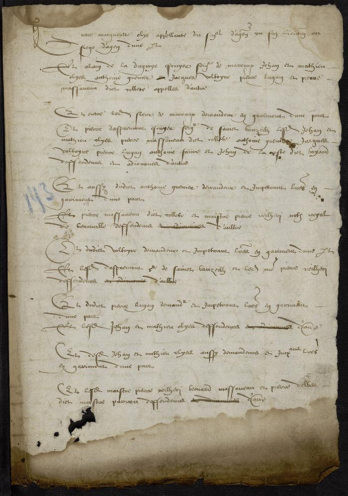 [Arrêt du Parlement de Bordeaux, 13 août 1566]