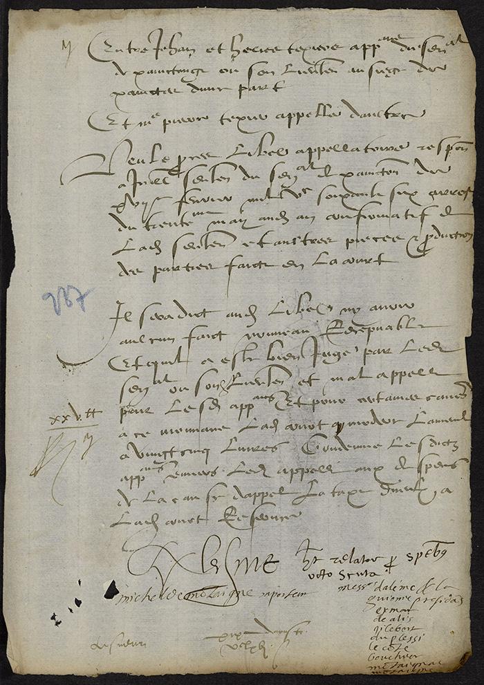 [Arrêt du Parlement de Bordeaux, 19 août 1566]