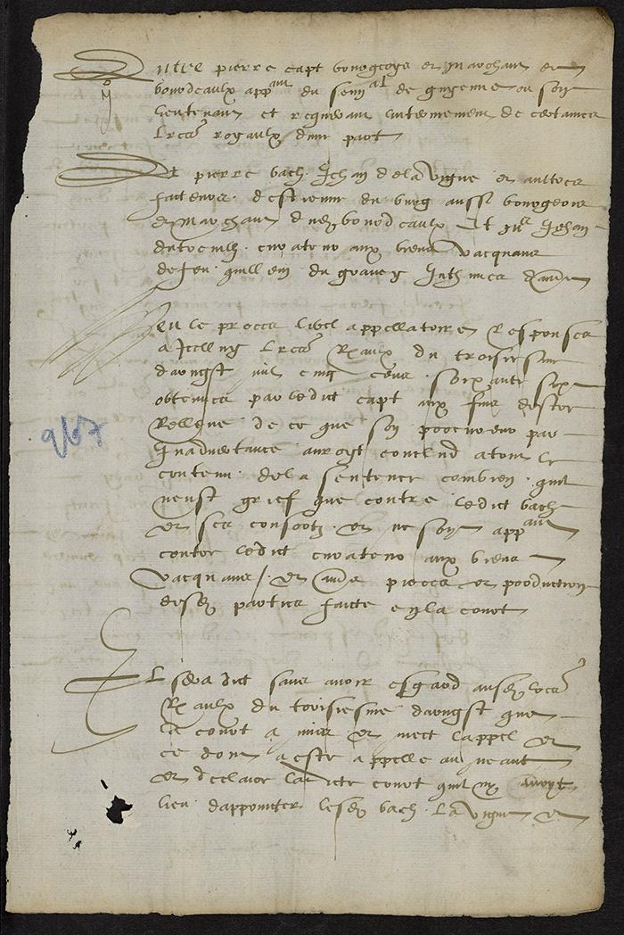 [Arrêt du Parlement de Bordeaux, 21 août 1566]