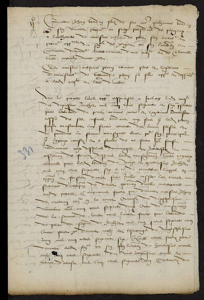 [Arrêt du Parlement de Bordeaux, 23 août 1566]