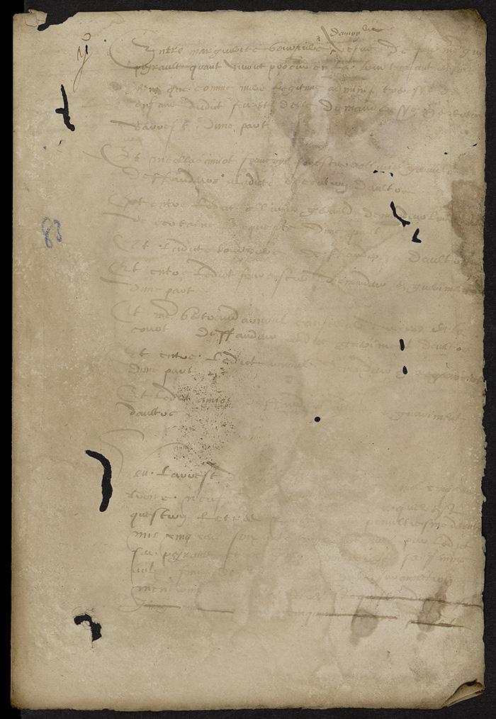 [Arrêt du Parlement de Bordeaux, 8 août 1567]