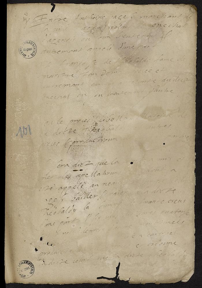 [Arrêt du Parlement de Bordeaux, 9 août 1567]
