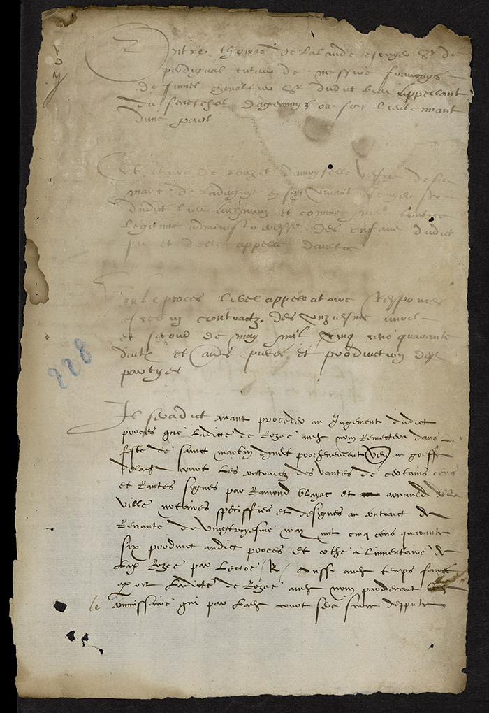 [Arrêt du Parlement de Bordeaux, 14 août 1567]